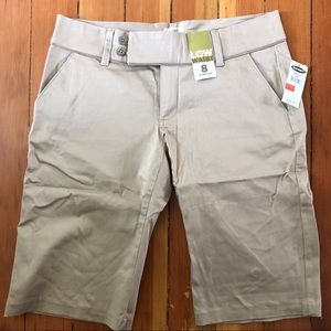 Old Navy Tan Short women's size 8 NWT